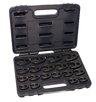 Hahnenfuß Krähenfuß Steckschlüssel Satz 19tlg Leitungsschlüssel Werkzeug 8-32mm