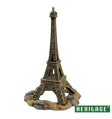 HERITAGE PE271 AQUARIUM FISH TANK EIFFEL TOWER PARIS ORNAMENT DECORATION 25CM ()