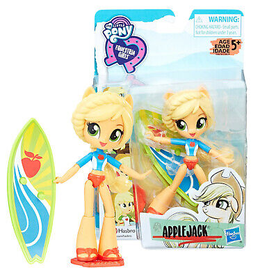 My Little Pony Equestria Girls Minis Beach Collection Applejack New in