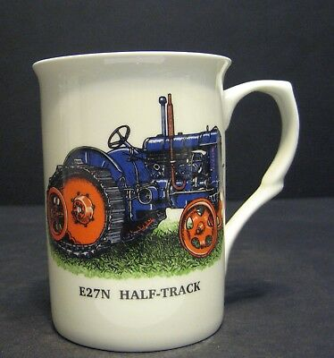Used, FORDSON MAJOR E27N HALF TRACK TRACTOR Fine Bone China Mug Cup Beaker for sale  Shipping to United States