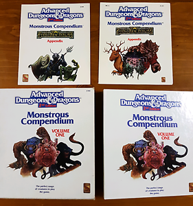 AD&D 2nd Edition Monstrous Compendium Huntingdale Gosnells Area Preview