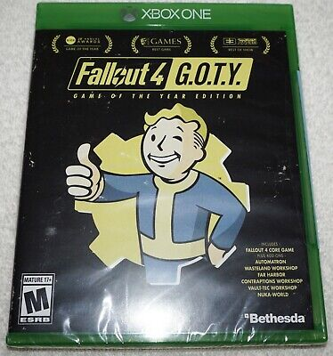 Fallout 4 G.O.T.Y Game of the Year Edition: Xbox One Factory Sealed Brand NEW!!!