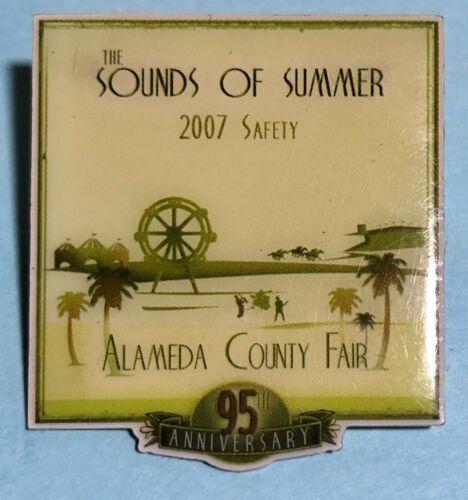 2007 Sounds of Summer, Alameda County, California County Fair Collector Pin
