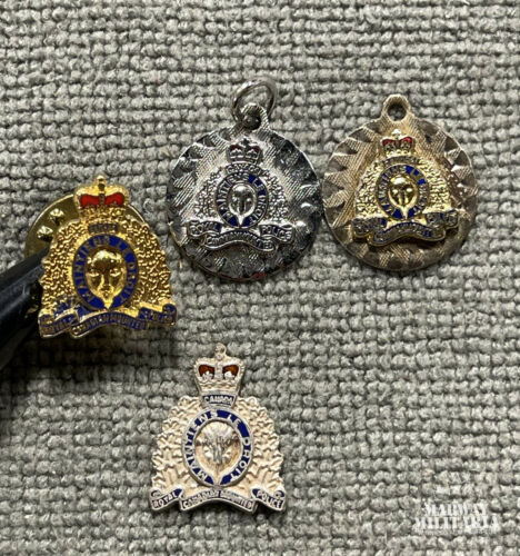 Obsolete, RCMP Sweetheart Pin / Charm Lot, Sterling  (24799)