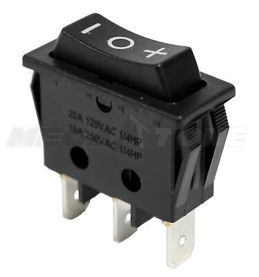 Spdt Momentary On-off-on Rocker Switch - Actuator 20a125vac Usa Seller