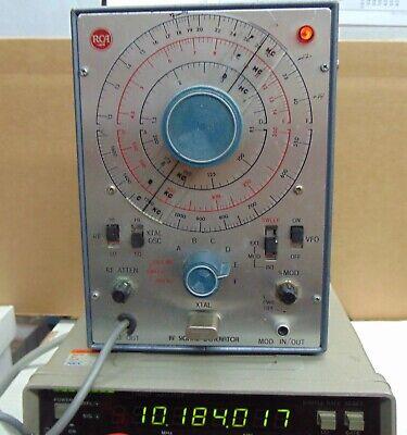 Vintage Rca Wr-50b Rf Signal Generator Very Good Condition Working