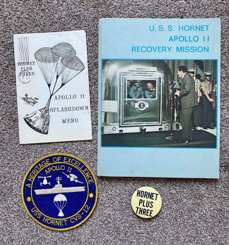 NASA Apollo 11 Vintage USS Hornet Recovery Items