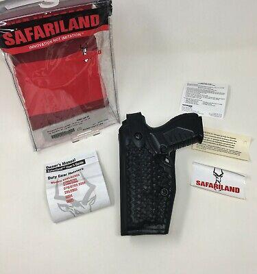Safariland 6280 Mid-ride Stx Bsk Level 23 Sls Duty Lh Holster - Springfield Xd