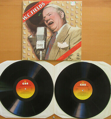 WC FIELDS The Best Of WC Fields 2xLP Gatefold 1976 CBS 88198