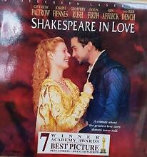 SHAKESPEARE IN LOVE (Laser Disc movie) St Marys Mitcham Area Preview