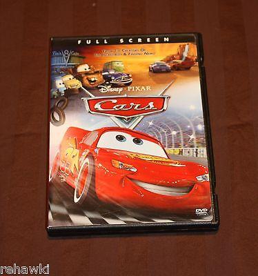 Cars (DVD, 2006, Full Frame) DISNEY DVD
