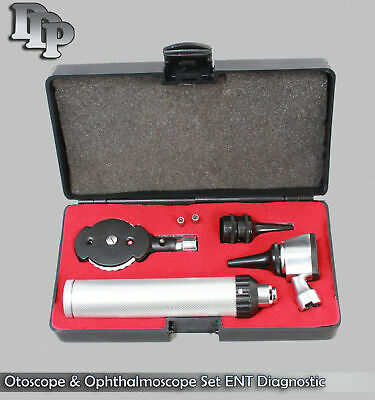 Ent Opthalmoscope Ophthalmoscope Otoscope Nasal Diagnostic Set Kit Nt-530