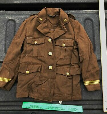 WW2 Child's Army Tunic Tom Sawyer Civilian Military Clothing WW2 Support