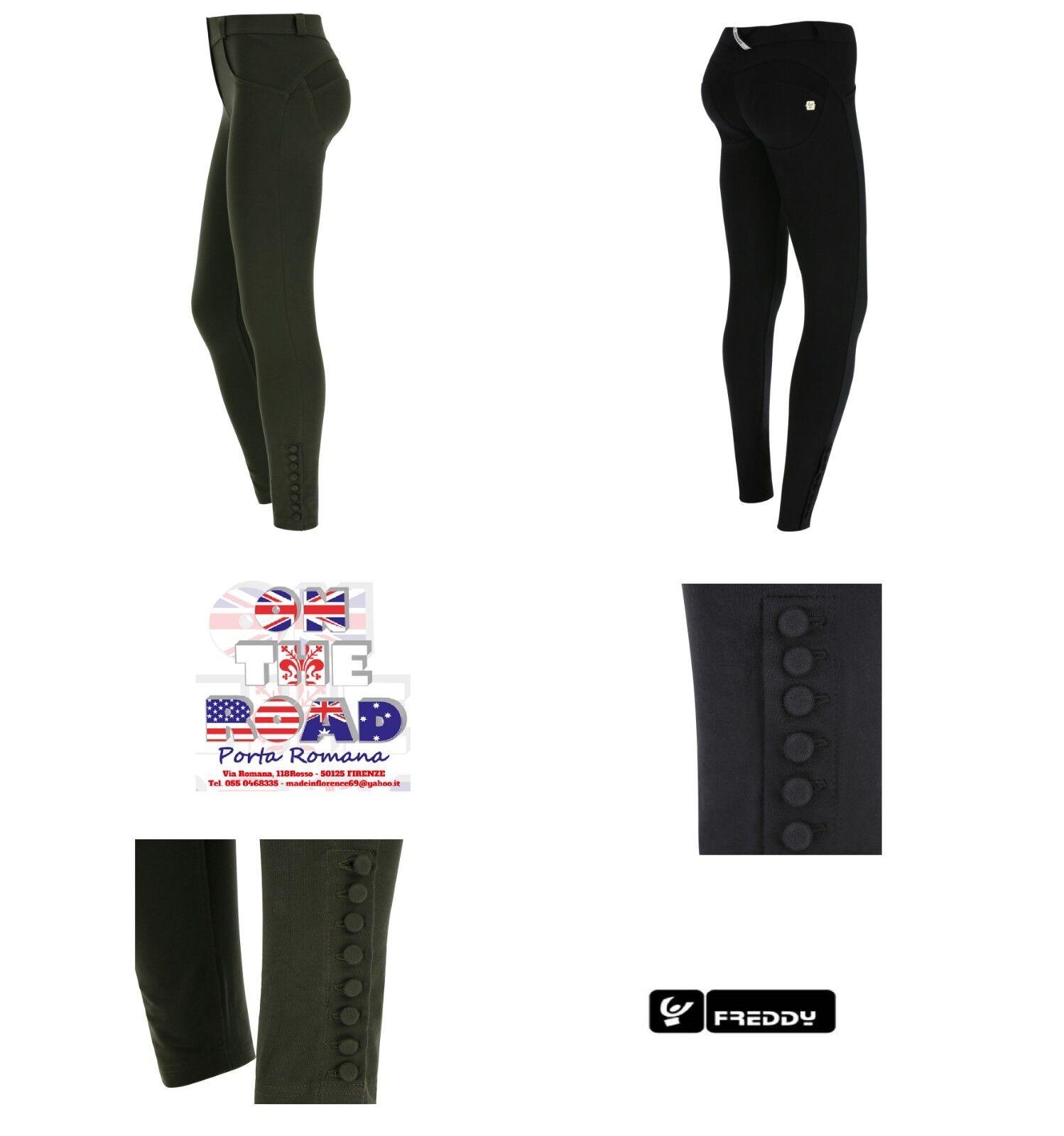 Abbigliamento e accessori SCONTO 10% FREDDY WR.UP WRUP16C002 SALOPETTE XXS XS S M L XL TUTA JEANS PUSH UP
