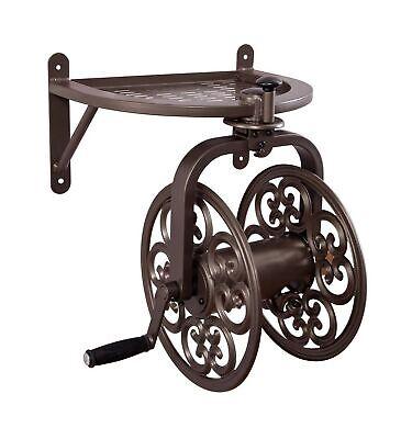 Liberty Garden 710 Navigator Rotating Garden Hose Reel, Holds 125-Feet of 5/8...