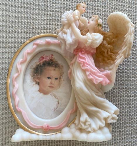 Vintage 1996 Roman Seraphim Classics Angel Infant Photo Picture Frame