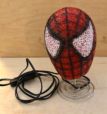MARVEL Comics Ultimate SPIDERMAN Bobblehead Lamp Night Light Superhero Decor