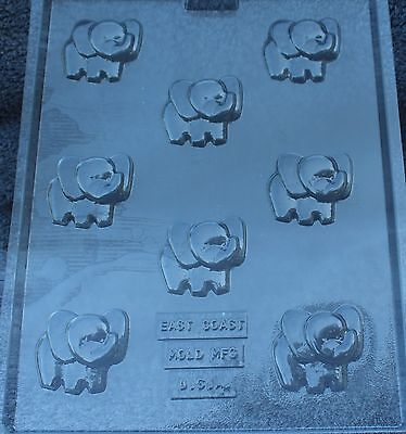 ELEPHANT BITES CHOCOLATE CANDY MOLD BABY SHOWER BIRTHDAY PARTY FAVORS CUPCAKE (Baby Candy Molds)