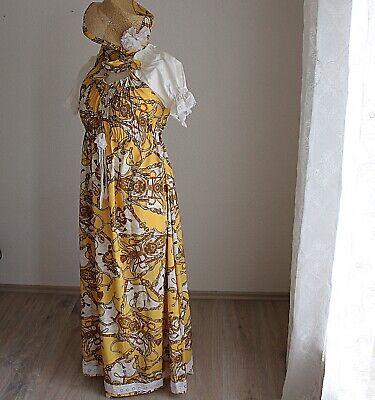 Kleid mit Hut im Empire Stil Gr S historisches Kostüm Karneval Theater Festumzug