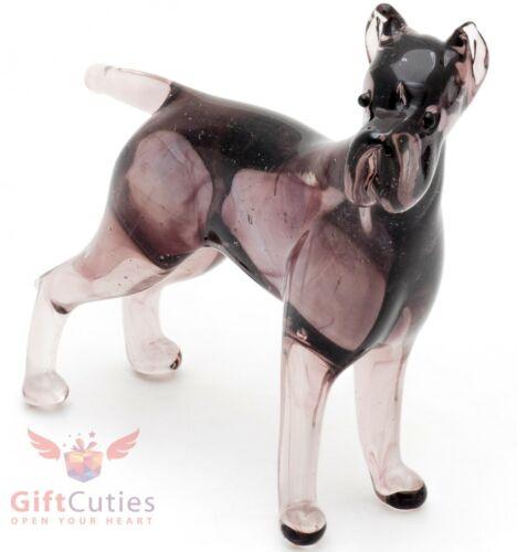 Art Blown Glass Figurine of the Cane Corso dog