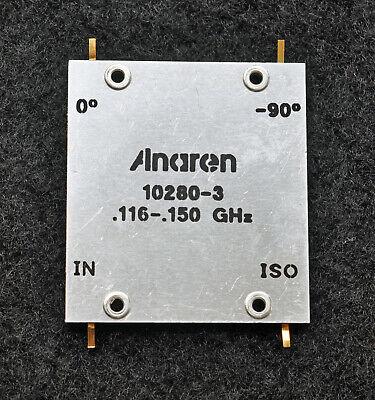 116-150mhz 500w Rf 2-way Hybrid Coupler Power Combiner Anaren 10280-3 New 1ea