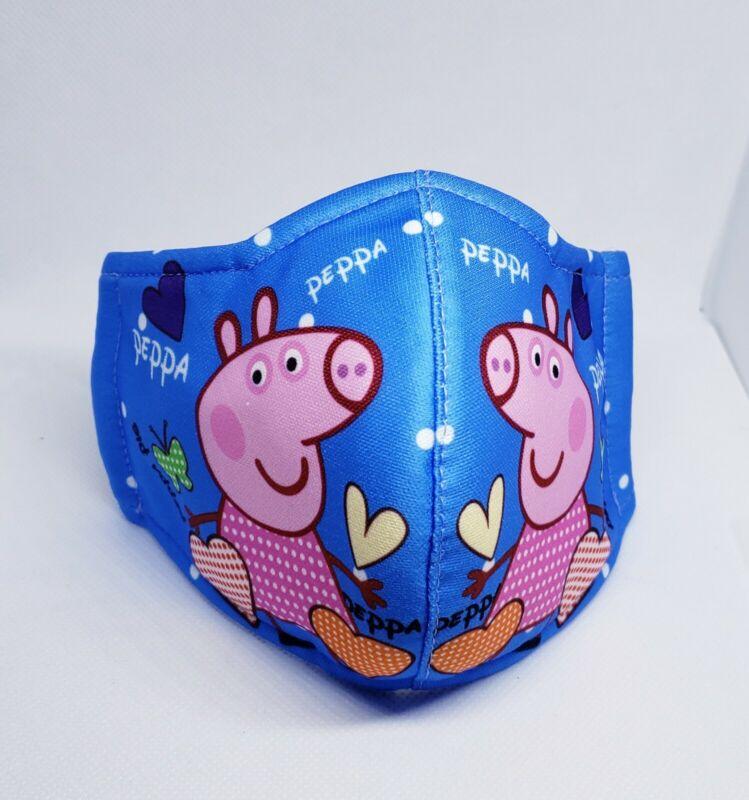 Peppa pig cloth masks 3pk