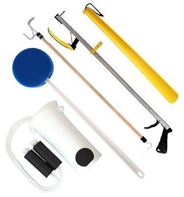 Hip Kit (RMS 5-Piece Premium Hip Kit, Knee Replacement Kit (32 or 26 inches Reacher) )