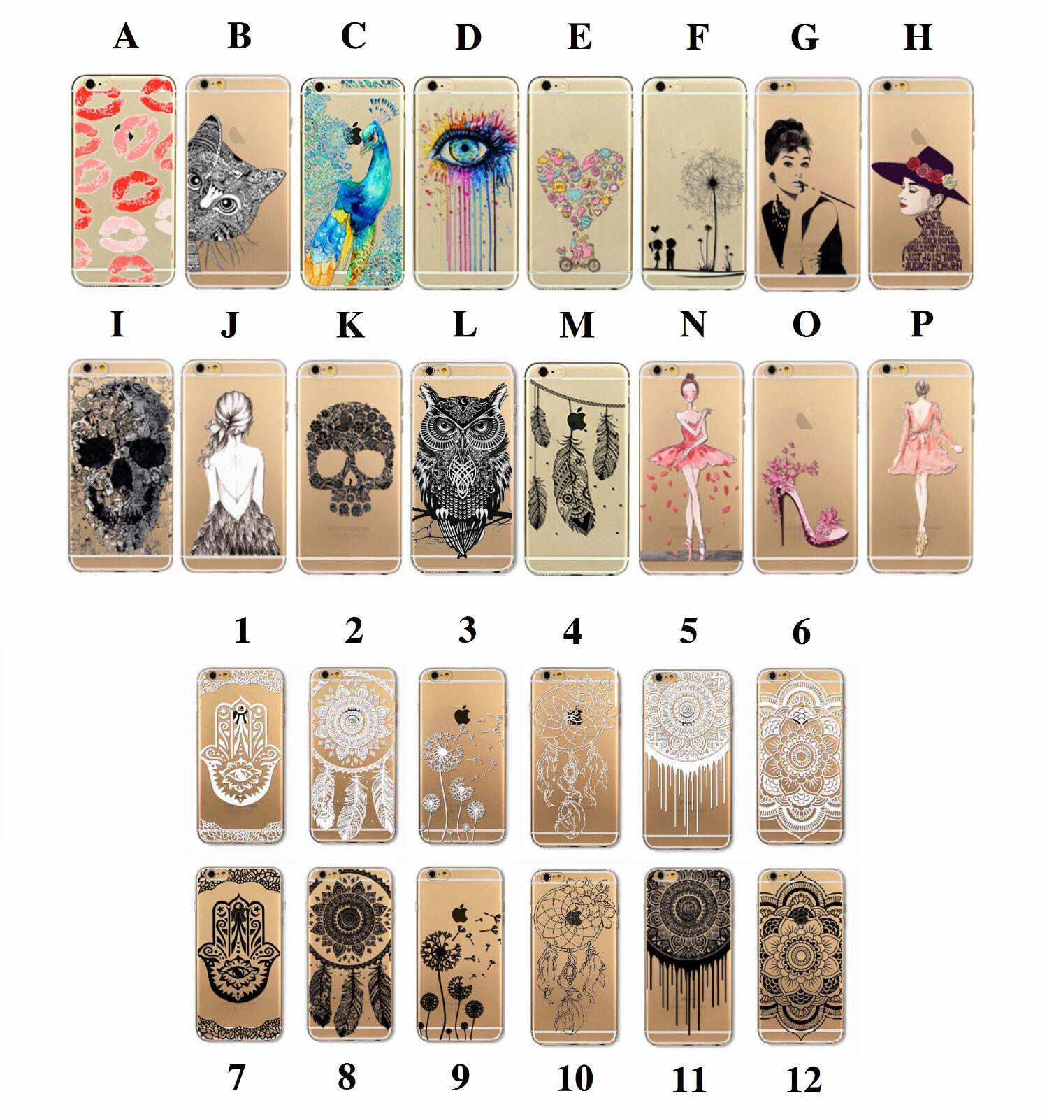 Handy Hülle Apple iPhone 5 5s SE 7 7 Plus 8 8 Plus Cover Case Schale Tasche