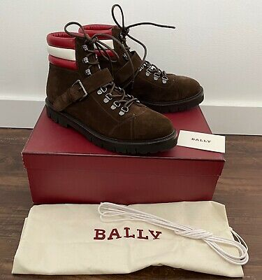 """Bally X Swiss """"Champions"""" brown suede hiking boots US 8 — MSRP $895"""
