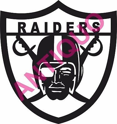Dxf File For Cnc Plasma Router Laser Cut Vector Dxf Cdr Files - Nfl Raiders