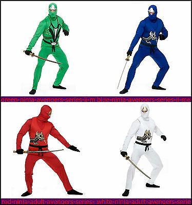 Men's  Ninja Adult Avengers Series II Costume MANY COLORS