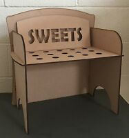 Y138 Ice Cream Sweet Candy Cone Cart Holder Table Top Mdf Display Carrier Caddy - unbranded - ebay.co.uk