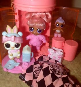 LOL suprise matching sets , friends and pets , hairgoals, underwraps..
