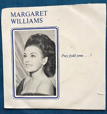 "Margaret Williams 7"" Welsh Record Pwy Fydd Yma Pistyll Y Llan Anglesey Wales"
