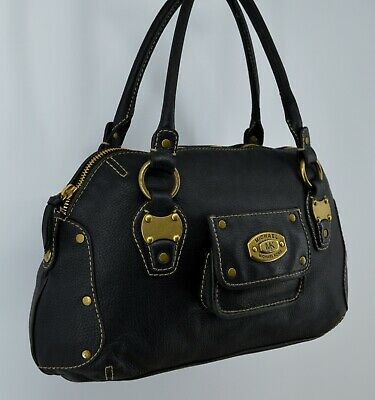 Michael Kors Black Pebbled Leather Handbag