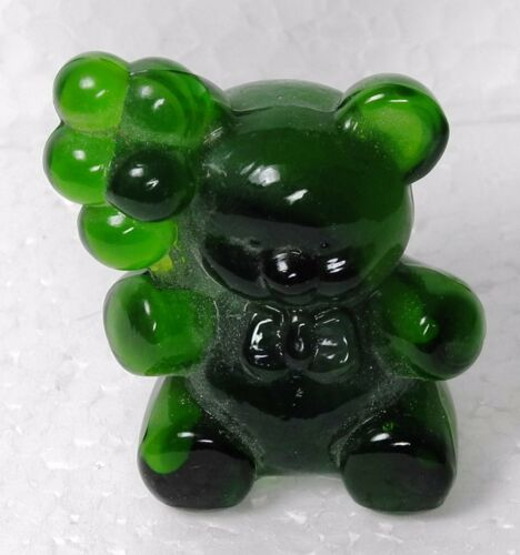 Boyd Glass Patrick Balloon Bear Lime 1990