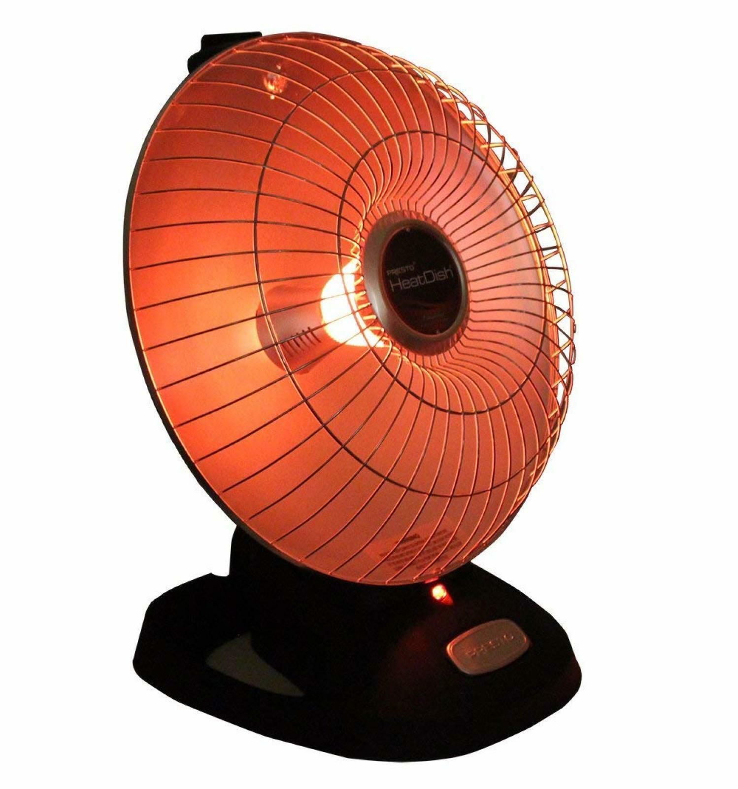 Electric Heaters for Home Presto Heating Dish Parabolic Spac