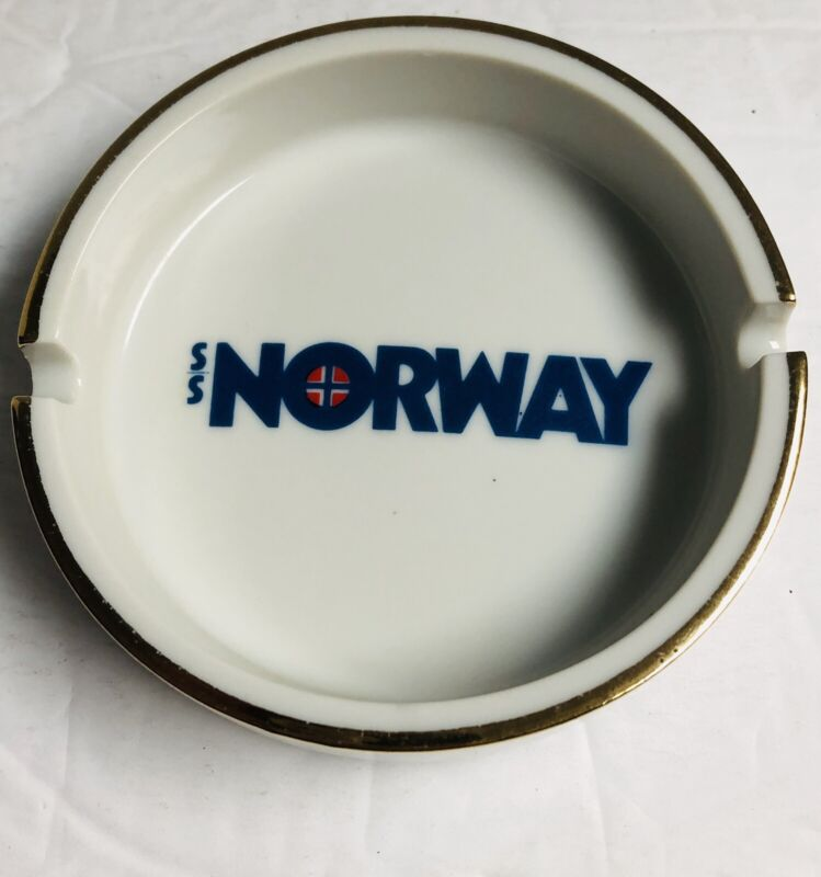 Vintage SS Norway Ash Tray