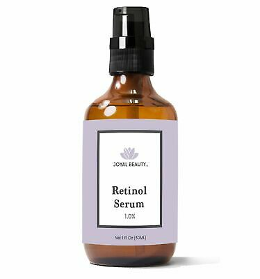 Organic Retinol Serum for Face Skin Eyes. Best for Anti-Aging Firming Fine