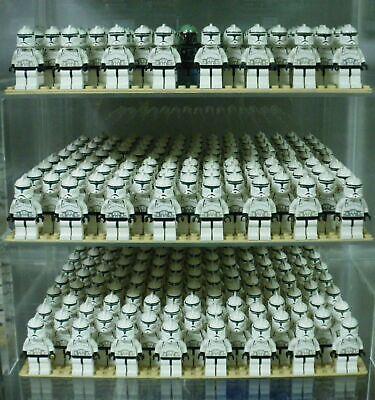 LEGO Star Wars Clone Trooper Lot Army Builder 7163 4482 Ep 2 Minifigure +Blaster ()