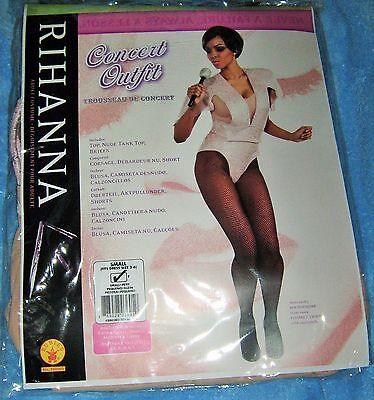 Rihanna Pink Body Suit Women Halloween Costume Rubies Size Small Concert Outfit - Rihanna Halloween Costumes