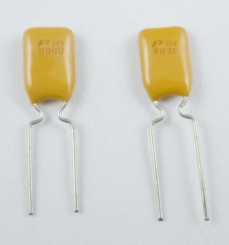 10Pcs New PolySwitch Resettable Fuse 30V 0.9A