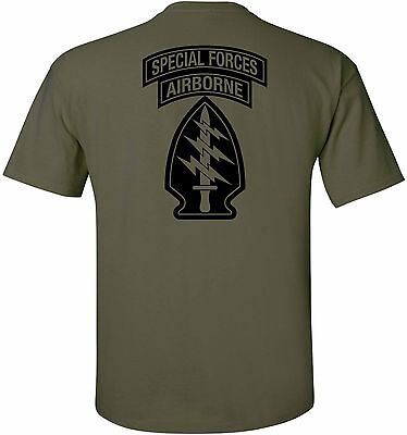 - United States Army - Special Forces Airborne T-Shirt