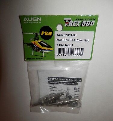 Align T-Rex 500 Pro Tail Rotor Hub #H50140BT - Align T-rex Tail Rotor