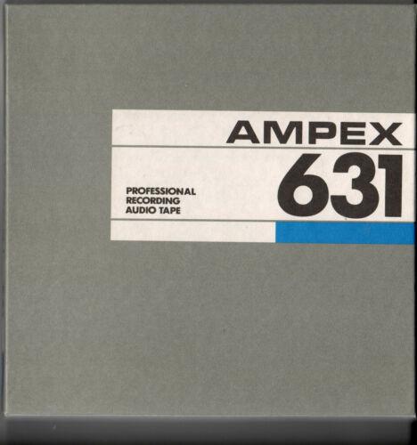 Reel-To-Reel Store: BRAND NEW!  12 Reels Ampex 631 blank recording tape
