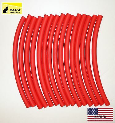 4 Feet - 38 9.5 Mm Dual Wall Red Heat Shrink Tubing 31 Glue Lined Tubes