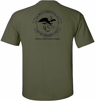 Usmc United States Marine Corps   31St Marine Expeditionary Unit  Meu  T Shirt