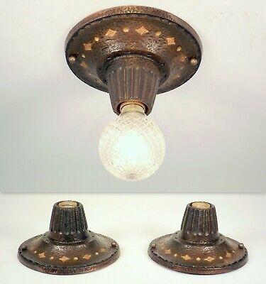 5 pcs 25w AMBER FLAME Painted Light Bulbs forArt Deco 1920s Bare Bulb Fixtures