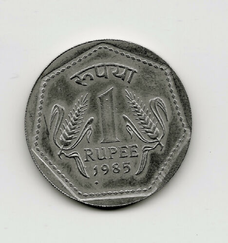 World Coins - India 1 Rupee 1985 Coin KM# 79 ; Lot-I2
