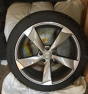 "AUDI/WV 4pcs 19"" 255/40/R19 wheels/all season tires 5x112"